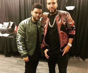 french montana, starboy, and the weeknd image