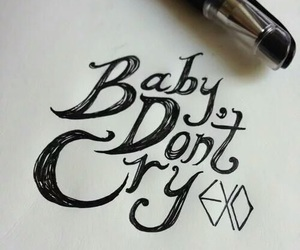 exo, baby don't cry, and chanyeol image