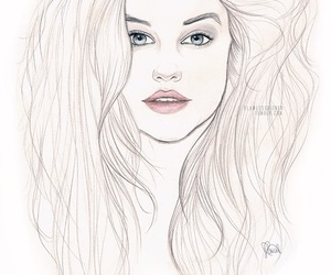 draw and barbara palvin image