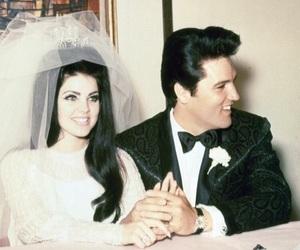 Elvis Presley, love, and vintage image