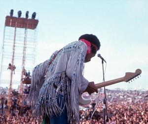 woodstock, Jimi Hendrix, and jimmy hendrix image