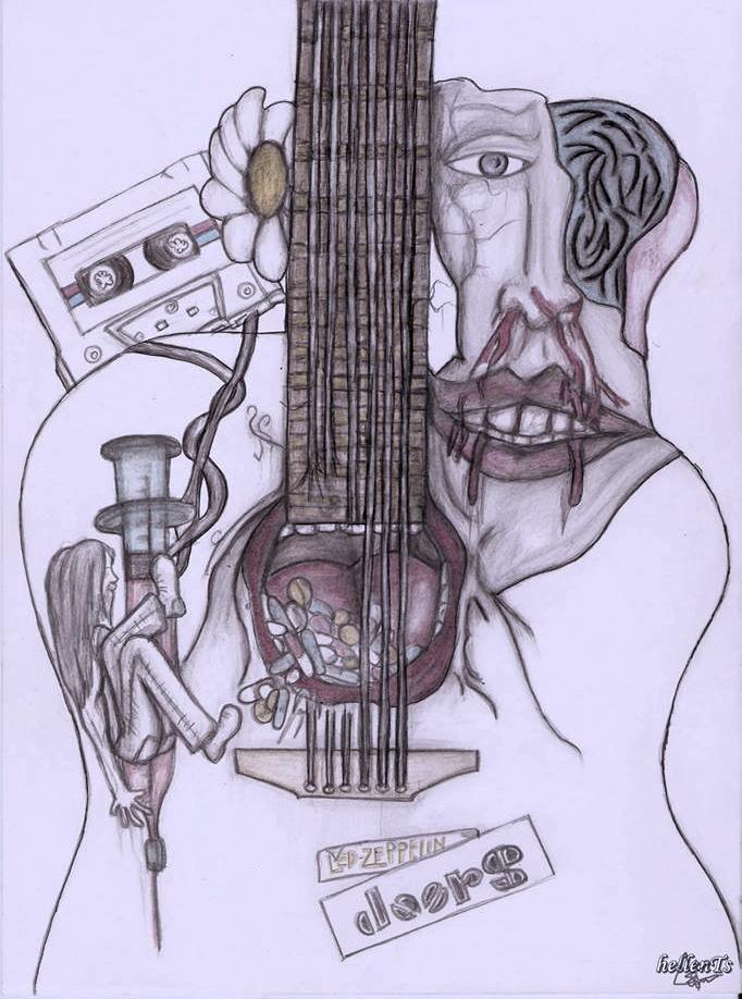 addiction, alternative, and art image
