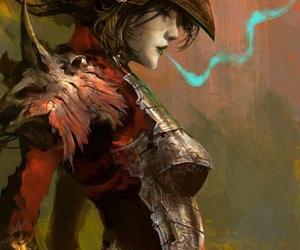 fanart, warrior, and female image