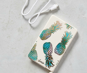 pineapple, portable charger, and sonix figure image