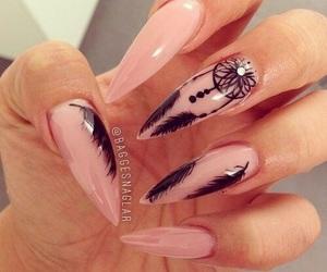 black, mask, and nails image