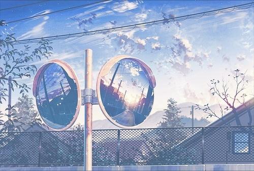anime, aesthetic, and anime scenery image