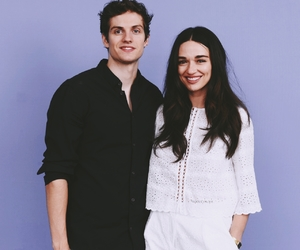 crystal reed, daniel sharman, and teen wolf image