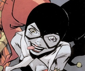 batman, comics, and harley quinn image