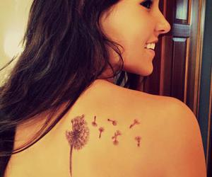 pretty, girl, and tattoo image