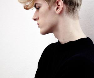 boy, model, and blonde image