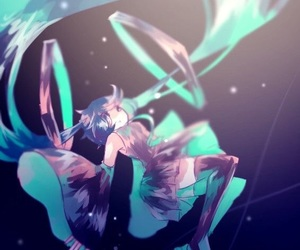 anime girl, hatsune miku, and vocaloid image