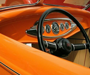 orange, car, and theme image