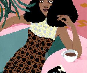 art, fashion illustration, and bijou karman image
