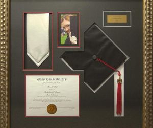 decorations, picture frames, and school image