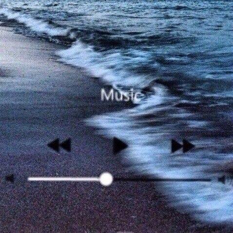 music and sea image