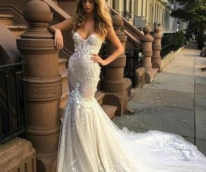 bride, nyc, and wedding dress image
