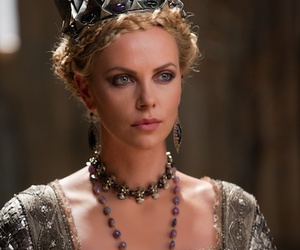 Charlize Theron and Queen image