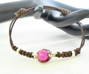etsy, gift idea, and leather bracelet image