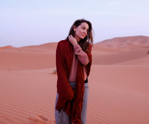 adventure, desert, and fashion image
