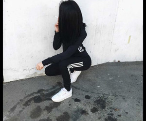 adidas, sport, and women image