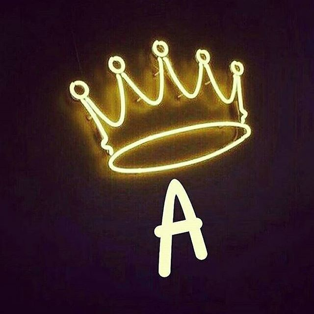 neon, crown, and light image