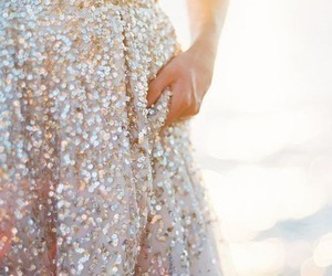 dress, sparkle in so cal contest, and glitter image