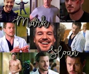 mark, grey's anatomy, and mark sloan image