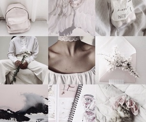 moodboard and white image