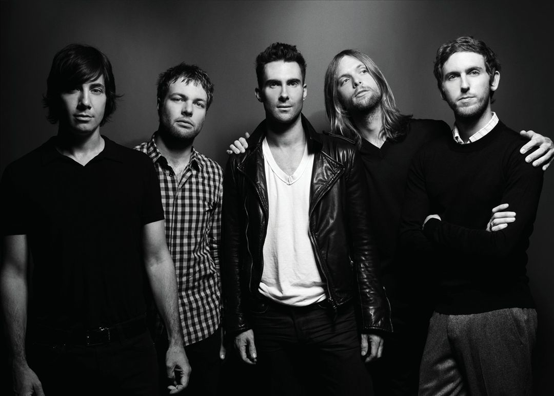 maroon 5, music, and band image
