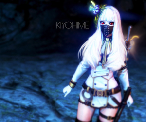 blade and soul, game, and kiyohime image
