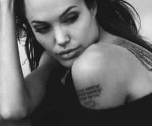 angelina, feminist, and tattoo image
