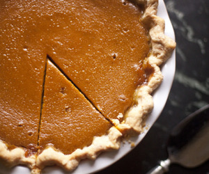 pie, Pumpkin Pie, and thanksgiving image