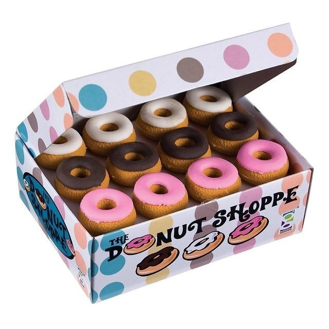 eraser, donut, and school image