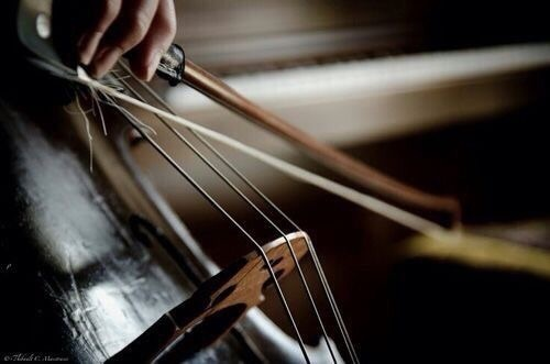 music and cello image