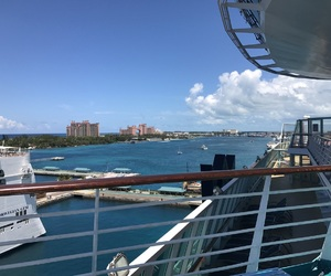 cruise, light-blue, and theocean image