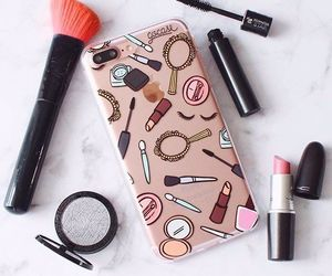 apple, cases, and makeup image
