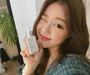 korean girl, make up, and cute image