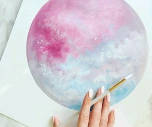 art, lovely, and sky image