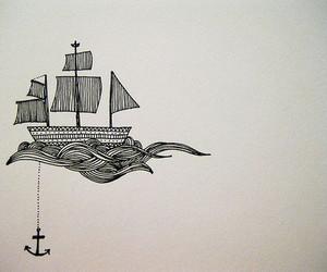 anchor, boat, and ship image