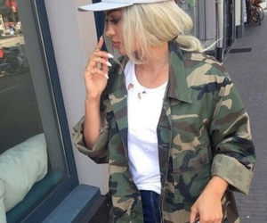 style, blonde, and hipster image