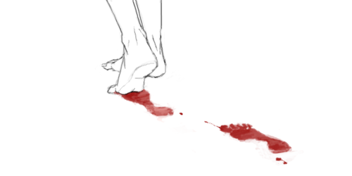 blood, anime, and art image