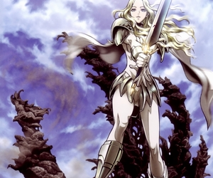 anime, guerreira, and claymore image