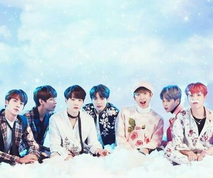 bts, background, and kpop image