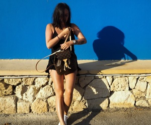 brown hair, crete, and girl image