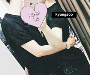 exo, chanyeol, and do kyungsoo image