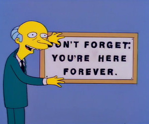 the simpsons, forever, and funny image