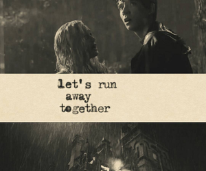 movies, quotes, and run away image