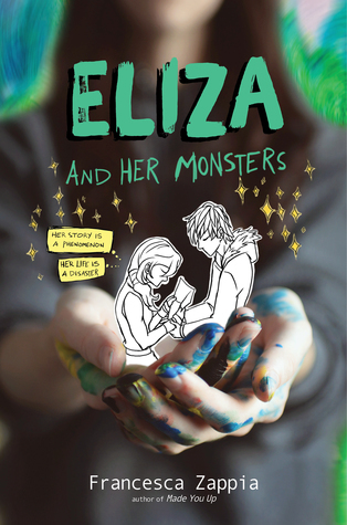article, book, and eliza and her monsters image