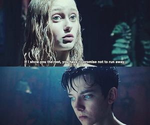 asa butterfield, ella purnell, and emma bloom image