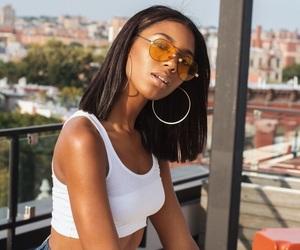 girl, pretty, and melanin image